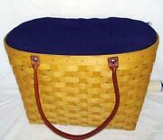 Longaberger Large Boardwalk Basket