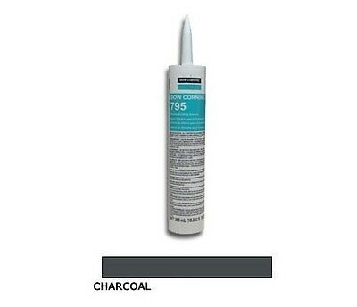 Dow Corning® 795 Charcoal Silicone Building Sealant - 3 Pack Dow Corning Silicone Sealant