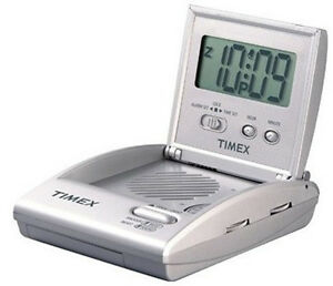 timex battery alarm clock ebay. Black Bedroom Furniture Sets. Home Design Ideas