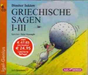 + Inkiow Dimiter : Griechische Sagen Teil 1-3 Sonderausgabe 6er CD HörBuch NEU