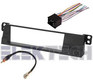 bmw 323i single din radio dash mounting kit with wire. Black Bedroom Furniture Sets. Home Design Ideas