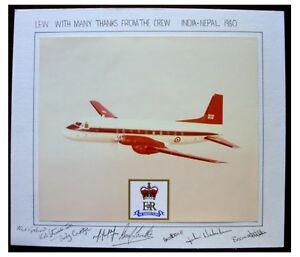 1980 Original Photograph - QUEEN ELIZABETH II - INDIA - NEPAL - Signed