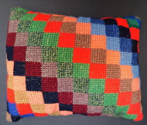 Add color to room décor with one-of-a-kind throw pillow