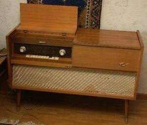 Antique Grundig SO 131 CA Stereo Console