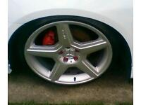 "19"" amg alloys with New tyres"