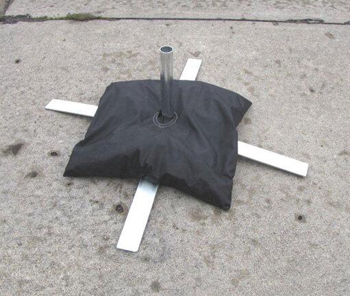 Sandbag For Swooper Banner Feather Bow Blade Flag Sidewalk Cross Scissor Mount