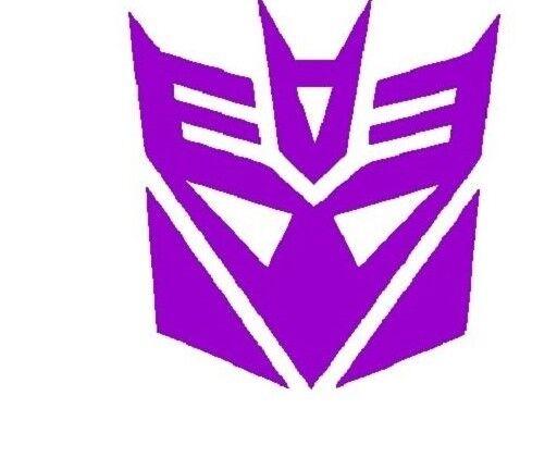 Transformers Decepticon Vinyl Decal JDM Helmet Sticker car window laptop tumbler
