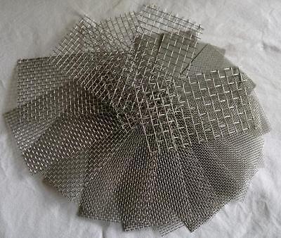 Edelstahl Drahtgewebe mit 2,5mm Maschenweite, 0,7mm Drahtstärke, 50 cm x 30 cm