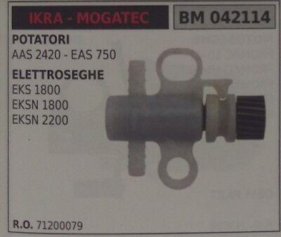 71200079 Bomba de Aceite Motosierra Eléctrico Sierra Eléctrica Ikra Mogatec Eks