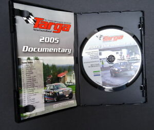 Targa Newfoundland motorsports car race & driver interviews DVD