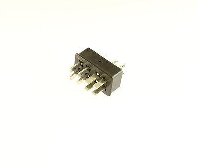 5x Beau Cinch P308lab Jones 8 Pin Plug 38330-2208 Insert Less Angle Bracket