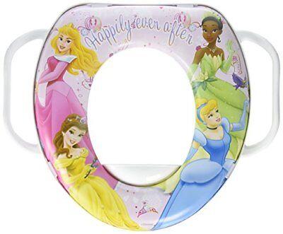 Disney Princess Girls Baby Toddler Soft Potty Training Seat Toilet w/ Handles ()