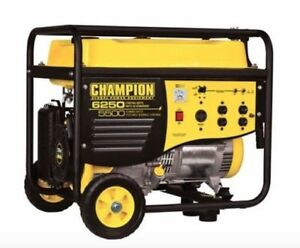 Champion 5500W Portable Gas Generator $599.00