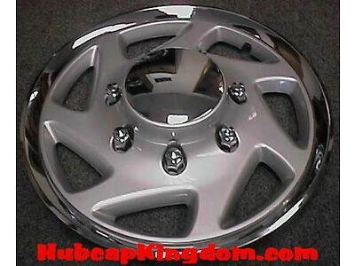 "NEW 1995-2011 FORD TRUCK F250 F350 Van E250 E350 16"" w/Chrome Wheelcover Hubcap"