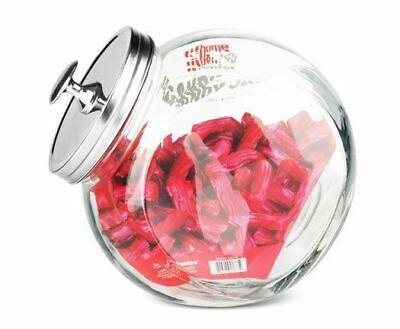Home Basics Glass Candy Storage Jar - - Candy Jar