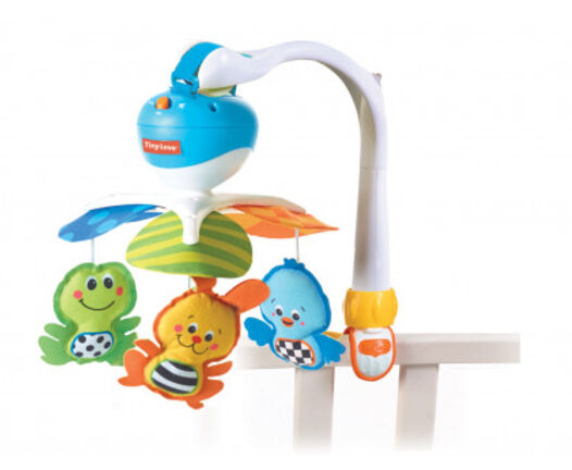 Tiny Love Take-along Baby Mobile With Music 3 In 1
