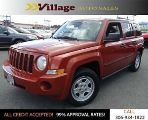 2009 Jeep Patriot Sport/North 4X4, Power Steering, Digital Au...