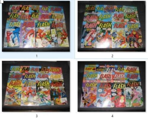 (BL63) HUGE FLASH (1959)  comic book (LOT OF 53) # 248- 297