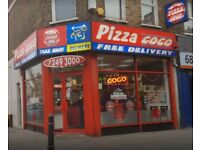Pizza gogo looking for pizza chef