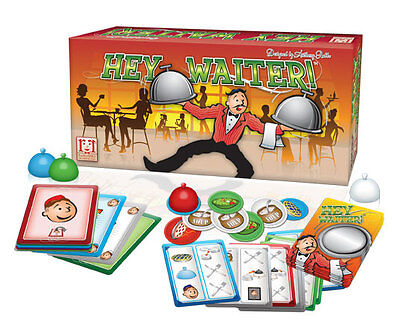 Hey Waiter Game: Card Game Serve It Up & Get Rid Of All The Dishes R&r