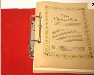 1960 Collector  'The Golden Rule Pattern Manual' Kawartha Lakes Peterborough Area image 2