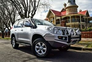 2009 Toyota Landcruiser Prado KDJ150R GXL Silver 5 Speed Sports Automatic Wagon Medindie Walkerville Area Preview
