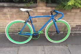 "MAJOR PRICE DROP!! Unique Mango ""Classy Blue"" Fixed Gear -52 cm"