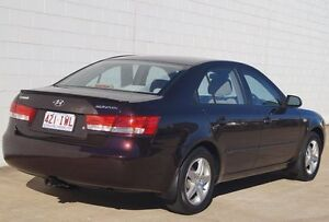 2005 Hyundai Sonata EF-B MY04 Burgundy 4 Speed Sports Automatic Sedan Bundaberg Central Bundaberg City Preview