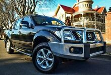 2013 Nissan Navara D40 S6 MY12 ST Black 5 Speed Sports Automatic Utility Medindie Walkerville Area Preview