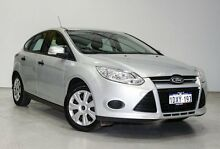 2012 Ford Focus LW MKII Ambiente Silver 5 Speed Manual Hatchback Edgewater Joondalup Area Preview