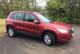 2008 VW TIGUAN 2.0TDI S 4WD 140bhp - FULL MOT AND SERVICE HISTORY
