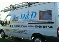 D&D Roofing and joinery services 01482 879060 or mobile 07960305735