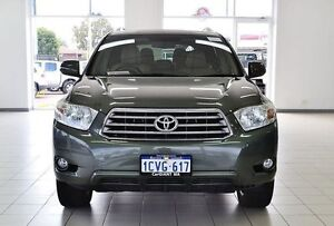 2008 Toyota Kluger GSU45R Grande (4x4) silverleaf 5 Speed Automatic Wagon Morley Bayswater Area Preview