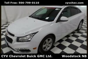 2015 Chevrolet Cruze 2LT - 0.9% - Heated Leather, Sunroof, Remot