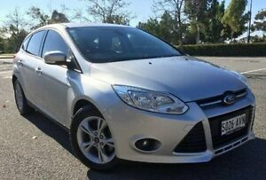 2012 Ford Focus LW Trend PwrShift Silver 6 Speed Sports Automatic Dual Clutch Hatchback Ingle Farm Salisbury Area Preview