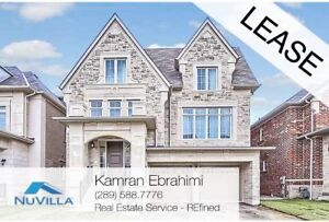 Detached Family Home, RENT Ready To Move In NOW  in Vaughan