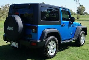 2014 Jeep Wrangler JK MY2014 Sport Blue Pearl 6 Speed Manual Softtop Bundaberg West Bundaberg City Preview