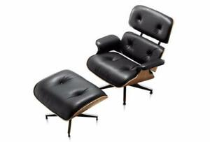 Herman Miller Eames Tall Lounge Chair and Ottoman
