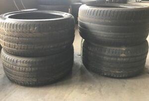 255/40zr20 & 295/35zr20, Summer tires,USED, Pirelli P Zero