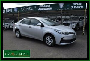 2018 Toyota Corolla ZRE172R MY17 Ascent Silver 7 Speed CVT Auto Sequential Sedan Seven Hills Blacktown Area Preview