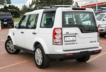 2012 Land Rover Discovery 4 Series 4 MY12 SDV6 CommandShift SE White 6 Speed Sports Automatic Wagon Balcatta Stirling Area Preview