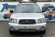 2004 Subaru Forester 79V MY04 XS Luxury Silver Manual Wagon Campbelltown Campbelltown Area Preview
