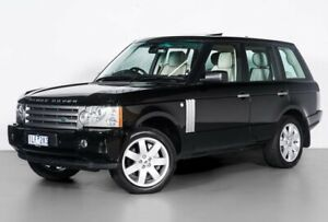 2008 Land Rover Range Rover Vogue L322 08MY TDV8 Luxury Black 6 Speed Sports Automatic Wagon Port Melbourne Port Phillip Preview