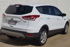2013 Ford Kuga TF Ambiente AWD White 6 Speed Sports Automatic Wagon Bundaberg West Bundaberg City Preview