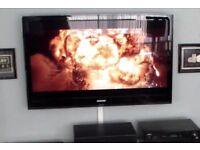 """Samsung 46"""" Full Hd tv with freeview. Wall mountable only. Local delivery possible"""