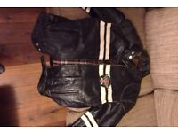 Real leather jacket - Pepe Jeans
