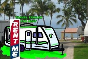 Travel Trailer For Rent for Towing to USS