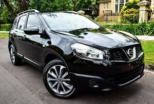 2010 Nissan Dualis J10 Series II MY2010 +2 Hatch X-tronic ST Black 6 Speed Constant Variable Medindie Walkerville Area Preview