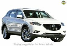 2015 Mazda CX-9 TB10A5 MY14 Luxury Activematic AWD White 6 Speed Sports Automatic Wagon Cannington Canning Area Preview