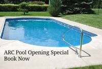 Pool Opening Special Book now